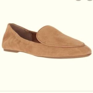 Lucky Brand Suede Flats Loafers Size 8.5